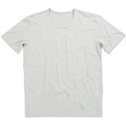 textil Herr T-shirts Stedman Stars Shawn Pudergrått