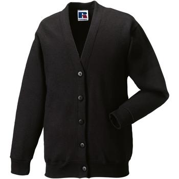 textil Barn Koftor / Cardigans / Västar Jerzees Schoolgear 273B Svart
