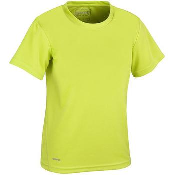 textil Pojkar T-shirts Spiro S253J Lime Green