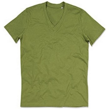 textil Herr T-shirts Stedman Stars  Earth Green