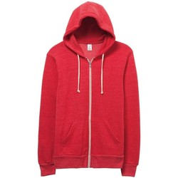 textil Herr Sweatshirts Alternative Apparel Alternative Eco True Red