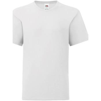textil Barn T-shirts Fruit Of The Loom 61023 Vit