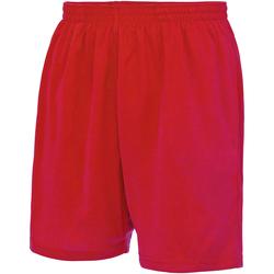 textil Herr Shorts / Bermudas Just Cool JC080 Eldröd