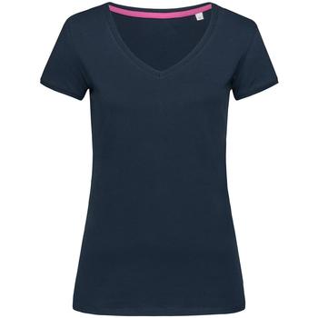 textil Dam T-shirts Stedman Stars Megan Blå