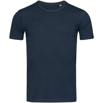 textil Herr T-shirts Stedman Stars Morgan Marina Blue