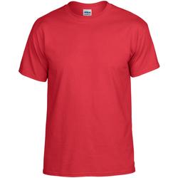 textil T-shirts Gildan DryBlend Röd