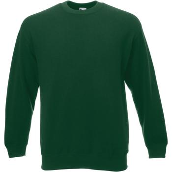 textil Herr Sweatshirts Universal Textiles 62202 Mörkgrön