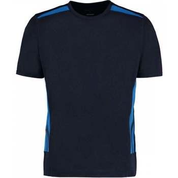 textil Herr T-shirts Gamegear KK930 Marinblått/elektriskt blått