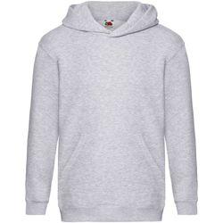 textil Barn Sweatshirts Fruit Of The Loom SS873 Grått
