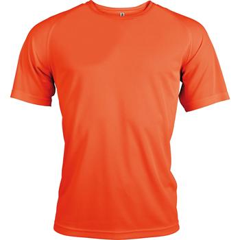 textil Herr T-shirts Kariban Proact PA438 Flourescent Orange
