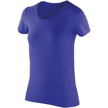 textil Dam T-shirts Spiro SR280F Safir