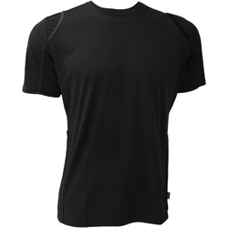 textil Herr T-shirts Gamegear Cooltex Svart/Svart