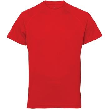 textil Herr T-shirts Tridri TR011 Eldröd