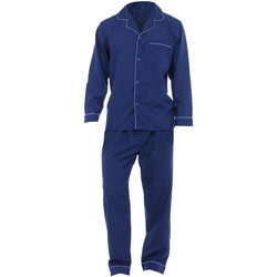 textil Herr Pyjamas/nattlinne Universal Textiles  Marinblått