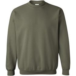 textil Sweatshirts Gildan 18000 Militärt grönt