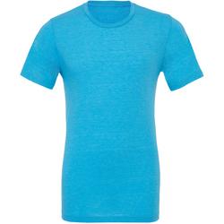 textil Herr T-shirts Bella + Canvas CA3413 Aqua Triblend