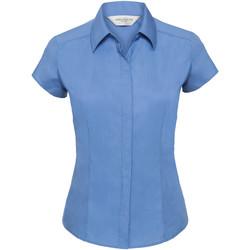 textil Dam Skjortor / Blusar Russell 925F Blått för företag
