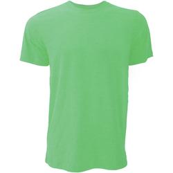 textil Herr T-shirts Bella + Canvas CA3001 Heather Green