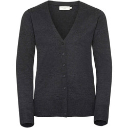 textil Dam Koftor / Cardigans / Västar Russell 715F Charcoal Marl