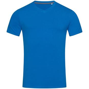 textil Herr T-shirts Stedman Stars Clive King Blue