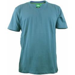 textil Herr T-shirts Duke Signature-2 Blåkråka