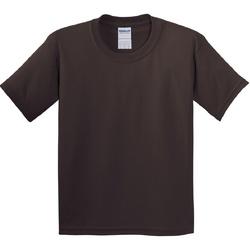 textil Barn T-shirts Gildan 5000B Mörk choklad