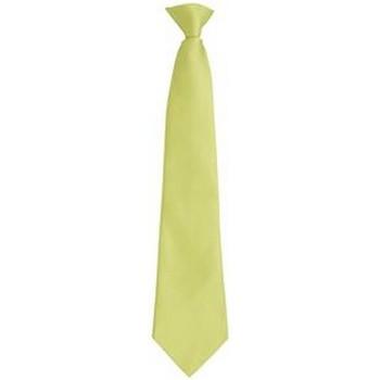 textil Herr Slipsar och accessoarer Premier PR785 Lime