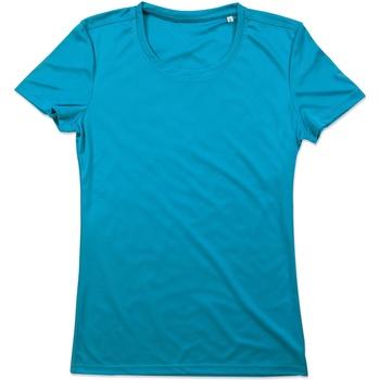 textil Dam T-shirts Stedman  Hawaii Blue