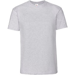 textil Herr T-shirts Fruit Of The Loom 61422 Grått