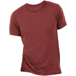 textil Herr T-shirts Bella + Canvas CA3413 Cardinal Triblend