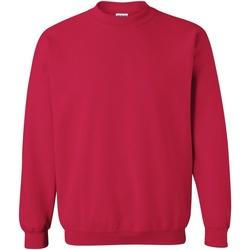 textil Sweatshirts Gildan 18000 Körsbärsröd