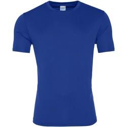 textil Herr T-shirts Awdis JC020 Kunglig blå