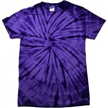 textil T-shirts Colortone Tonal Spindel Lila