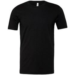 textil Herr T-shirts Bella + Canvas CA3001 Heather Black