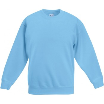 textil Barn Sweatshirts Fruit Of The Loom SS801 Himmelblått
