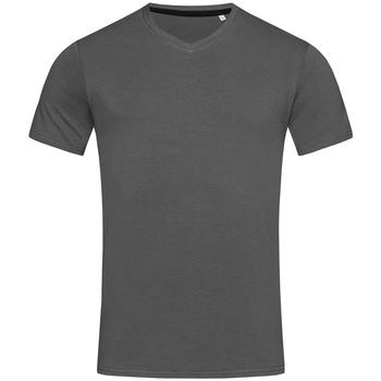 textil Herr T-shirts Stedman Stars Clive Skiffergrått