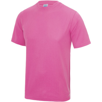textil Barn T-shirts Awdis JC01J Elektrisk rosa