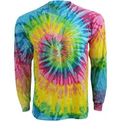 textil Dam Långärmade T-shirts Colortone TD15M Saturn