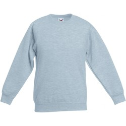 textil Barn Sweatshirts Fruit Of The Loom  Grått