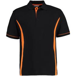textil Herr Kortärmade pikétröjor Kustom Kit Scottsdale Svart/orange