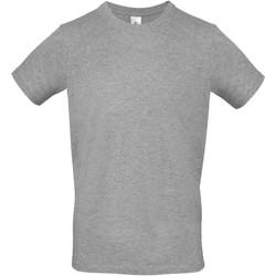 textil Herr T-shirts B And C TU01T Sport Grå
