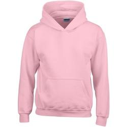 textil Barn Sweatshirts Gildan 18500B Ljusrosa