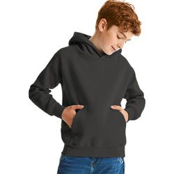textil Barn Sweatshirts Jerzees Schoolgear 575B Svart