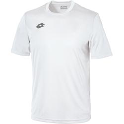 textil Barn T-shirts Lotto LT26B Vitt/tall