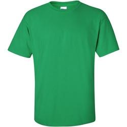 textil Herr T-shirts Gildan Ultra Irländsk grön