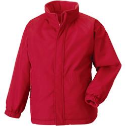 textil Barn Vindjackor Jerzees Schoolgear 875B Klassiskt röd