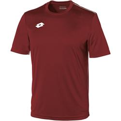 textil Barn T-shirts Lotto LT26B Granata/vit