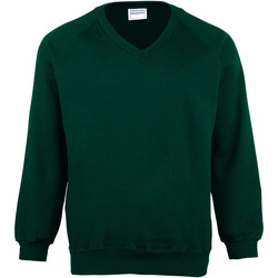 textil Herr Sweatshirts Maddins MD02M Flaskegrön