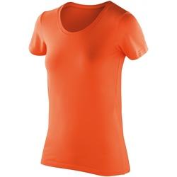 textil Dam T-shirts Spiro S280F Mandarin