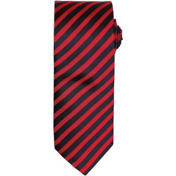 textil Herr Slipsar och accessoarer Premier PR782 Röd/Svart